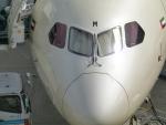 うすさんが、中部国際空港で撮影したエティハド航空 787-9の航空フォト(写真)