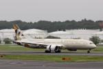 出戻りさんが、成田国際空港で撮影したエティハド航空 787-9の航空フォト(写真)