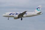 PASSENGERさんが、フランクフルト国際空港で撮影したアドリア航空 A319-111の航空フォト(写真)