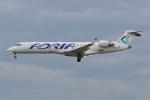 PASSENGERさんが、フランクフルト国際空港で撮影したアドリア航空 CL-600-2C10 Regional Jet CRJ-700の航空フォト(写真)