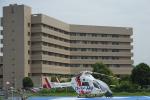 sepia2016さんが、日本医科大学千葉北総病院で撮影した朝日航洋 MD-900 Explorerの航空フォト(写真)