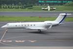 いおりさんが、成田国際空港で撮影した金鹿航空 G-V-SP Gulfstream G550の航空フォト(写真)