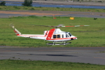 TAKAHIDEさんが、新潟空港で撮影した朝日航洋 412EPの航空フォト(写真)