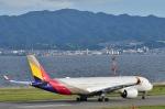 Take51さんが、関西国際空港で撮影したアシアナ航空 A350-941XWBの航空フォト(写真)