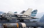 ノビタ君さんが、横須賀基地で撮影したアメリカ海軍 A-7B Corsair IIの航空フォト(写真)