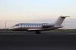 スポット110さんが、羽田空港で撮影したビスタジェット CL-600-2B16 Challenger 605の航空フォト(写真)