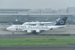 じゃまちゃんさんが、羽田空港で撮影したタイ国際航空 747-4D7の航空フォト(写真)