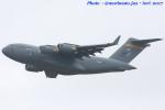 いおりさんが、横田基地で撮影したアメリカ空軍 C-17A Globemaster IIIの航空フォト(写真)