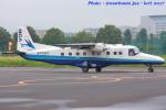 いおりさんが、調布飛行場で撮影した新中央航空 228-212の航空フォト(写真)