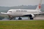 はれ747さんが、旭川空港で撮影した日本航空 767-346の航空フォト(写真)