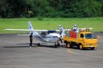 CL&CLさんが、奄美空港で撮影したいであ T206H Turbo Stationairの航空フォト(写真)