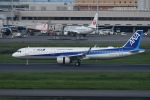 TAK10547さんが、羽田空港で撮影した全日空 A321-272Nの航空フォト(写真)
