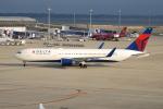 きんめいさんが、中部国際空港で撮影したデルタ航空 767-3P6/ERの航空フォト(写真)