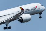 pinamaさんが、関西国際空港で撮影したアシアナ航空 A350-941XWBの航空フォト(写真)