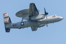 Tomo-Papaさんが、厚木飛行場で撮影したアメリカ海軍 E-2D Advanced Hawkeyeの航空フォト(写真)