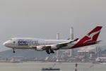 sky-spotterさんが、香港国際空港で撮影したカンタス航空 747-438/ERの航空フォト(写真)