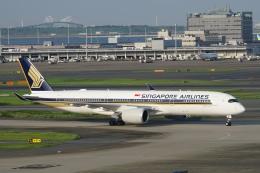 pringlesさんが、羽田空港で撮影したシンガポール航空 A350-941XWBの航空フォト(写真)