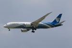 NH642さんが、スワンナプーム国際空港で撮影したオマーン航空 787-8 Dreamlinerの航空フォト(写真)