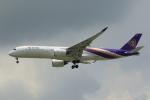 NH642さんが、スワンナプーム国際空港で撮影したタイ国際航空 A350-941XWBの航空フォト(写真)