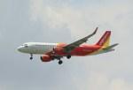NH642さんが、スワンナプーム国際空港で撮影したタイ・ベトジェットエア A320-214の航空フォト(写真)