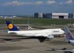 よんすけさんが、羽田空港で撮影したルフトハンザドイツ航空 747-830の航空フォト(写真)