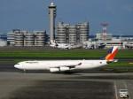 よんすけさんが、羽田空港で撮影したフィリピン航空 A340-313Xの航空フォト(写真)