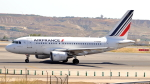誘喜さんが、マドリード・バラハス国際空港で撮影したエールフランス航空 A318-111の航空フォト(写真)
