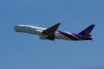 カメラマンあきさんが、新千歳空港で撮影したタイ国際航空 777-2D7/ERの航空フォト(写真)