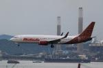 sky-spotterさんが、香港国際空港で撮影したマリンド・エア 737-8GPの航空フォト(写真)