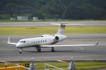 TAISEIさんが、成田国際空港で撮影したMGMミラージュ G-V Gulfstream Vの航空フォト(写真)