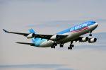 ちかぼーさんが、成田国際空港で撮影したエア・タヒチ・ヌイ A340-313Xの航空フォト(写真)