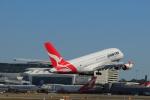 しかばねさんが、シドニー国際空港で撮影したカンタス航空 A380-842の航空フォト(写真)