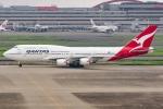 Ariesさんが、羽田空港で撮影したカンタス航空 747-438/ERの航空フォト(写真)