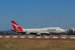 しかばねさんが、シドニー国際空港で撮影したカンタス航空 747-438の航空フォト(写真)