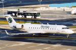 菊池 正人さんが、フランクフルト国際空港で撮影したスティリアン・スピリット CL-600-2B19 Regional Jet CRJ-200LRの航空フォト(写真)
