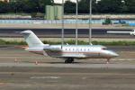 たまさんが、羽田空港で撮影したビスタジェット CL-600-2B16 Challenger 605の航空フォト(写真)