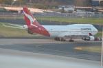 amagoさんが、シドニー国際空港で撮影したカンタス航空 747-48Eの航空フォト(写真)