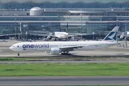 pringlesさんが、羽田空港で撮影したキャセイパシフィック航空 777-367/ERの航空フォト(写真)