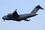 AkilaYさんが、横田基地で撮影したアメリカ空軍 C-17A Globemaster IIIの航空フォト(写真)