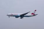 ポン太さんが、成田国際空港で撮影したオーストリア航空 777-2Z9/ERの航空フォト(写真)
