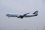ポン太さんが、成田国際空港で撮影したキャセイパシフィック航空 747-867F/SCDの航空フォト(写真)