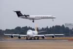 ポン太さんが、成田国際空港で撮影したGulfstream Aerospace G500/G550 (G-V)の航空フォト(写真)