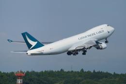 pringlesさんが、成田国際空港で撮影したキャセイパシフィック航空 747-467F/ER/SCDの航空フォト(写真)