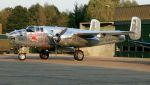 航空見聞録さんが、クライネ・ブローゲル空軍基地で撮影したザ・フライングブルズ B-25J Mitchellの航空フォト(写真)