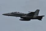 NFファンさんが、厚木飛行場で撮影したアメリカ海兵隊 F/A-18D Hornetの航空フォト(写真)