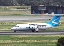 ken1☆MYJさんが、パース空港で撮影したコブハム BAe-146-200の航空フォト(写真)