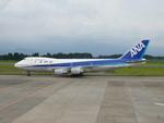 はみんぐばーどさんが、鹿児島空港で撮影した全日空 747SR-81の航空フォト(写真)