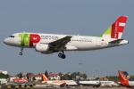 つみネコ♯2さんが、リスボン・ウンベルト・デルガード空港で撮影したTAP ポルトガル航空 A319-111の航空フォト(写真)