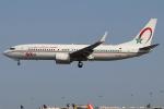 つみネコ♯2さんが、リスボン・ウンベルト・デルガード空港で撮影したロイヤル・エア・モロッコ 737-8B6の航空フォト(写真)