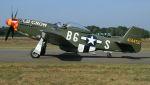 航空見聞録さんが、クライネ・ブローゲル空軍基地で撮影したScandinavian Historic Flight P-51D Mustangの航空フォト(写真)